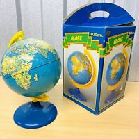 Boxed Vintage 1980's Toy GLOBE Made for WOOLWORTHS ⌀20cm Diameter