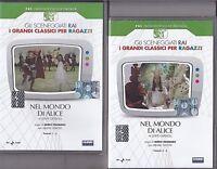 Dvd Sceneggiati Rai **NEL MONDO DI ALICE** completo nuovo 1974
