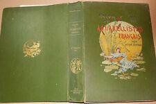 1887 MONTROSIER SALON DES AQUARELLISTES FRANçAIS ballon dirigeable