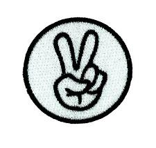 Patch patches backpack biker motorcycle moto peace sign chopper
