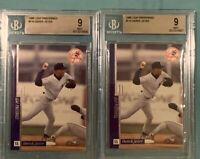 Lot of 2 - Derek Jeter 1996 Leaf Preferred #116 BGS 9 Mint Graded Rookie Card RC