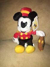 Disney Hollywood Tower of Terror Hotel Stuffed Mickey Bellhop - Polynesian Case