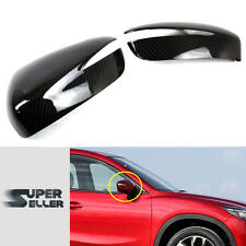 Carbon Fiber For CX-5 SUV For Mazda Hatchback View Mirror Cover 2015 2016 GS GX