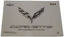 2014 Chevrolet Corvette C7 Infotainment System Booklet New OEM 23127539