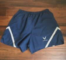 Mens US Air Air Force PT Physical Training Shorts Size XXL