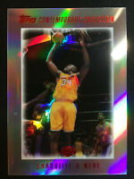 2003-04 Topps Contemporary Collection Shaquille O'Neal #57 LA Lakers 151/225 BY