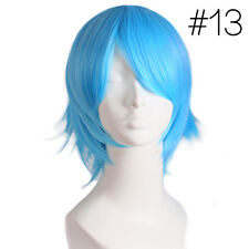 Unisex  Straight Short Hair Wig Cosplay Party Costume Anime Full Selling Wig Hot