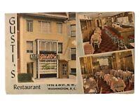 Gusti's Restaurant, Washington, D.C. Postcard - District of Columbia