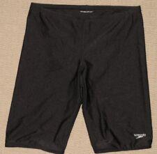 Mens Speedo Swimwear Swimsuit Jammer Compression Swim Short Sz: 25 Black