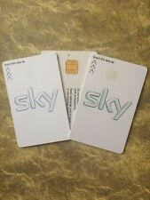 FREESAT  SKY HD White VIEWING CARD INCLUDES 8 EXTRA CHANNELS!