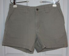 Patagonia Shorts Womens 6 Tan Khaki 100% Organic Cotton Canvas