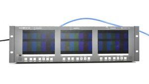Wohler Panorama RM-3357-HD Triple 5.7 LCDs 4:3 HD-SDI and SD-SDI