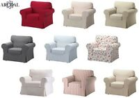 IKEA EKTORP Cover Single Seat Sofa , in Various Colours, (Chair Not Included)