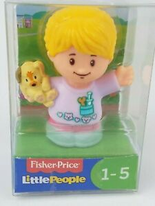Fisher Price Little People Veterinarian Ella figure