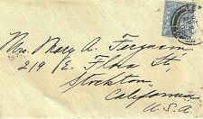 Great Britain to Usa Edward Vii 1905 stamp on Cover Wysiwyg Lot