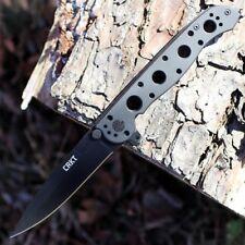 Couteau Tactical CRKT M16 Spear Point Lame Acier 12C27 Manche Acier Frame CR03KS