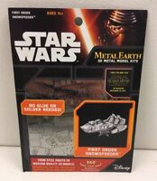 ~ Metal Earth STAR WARS  ---  FIRST ORDER SNOWSPEEDER -  3D Puzzle Steel Model ~