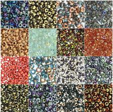 Unions 6/0 Seed Beads Round Glass Miyuki Czech Rocailles 20 Grams U-Pick