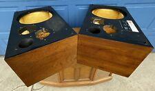 OEM Pair (2) Nice JBL L100 Walnut Cabinets CABS ~ Sweet Originals L 100