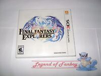 Final Fantasy Explorers - Nintendo 3DS * New Sealed Game *