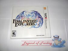 * New * Sealed * Final Fantasy Explorers for Nintendo 3DS (+ 2DS + 3DS XL)