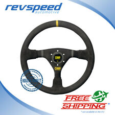 OMP Racing WRC Black Suede 350mm Steering Wheel OD/1979/N FREE SHIPPING!