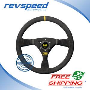 OMP Racing WRC Black Suede 350mm Steering Wheel Genuine OD/1979/N