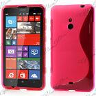 Accessorio Cover Custodia TPU Silicone Gel Motivo S S-Line Serie Nokia Lumia