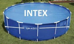 Intex Solarplane 366  Pool Solarfolie 29022 Solarheizung Poolabdeckung , (K)