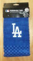 MLB Embroidered Tri-fold Towel - Los Angeles Dodgers LA Golf
