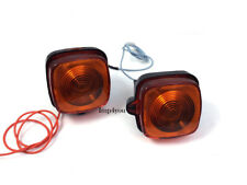 2X Front Turn Signal Indicator for Honda XL125S XL185S XL100S XL80S 6Volt