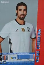 SAMI KHEDIRA - A3 Poster (ca. 42 x 28 cm) - Fußball EM 2016 Clippings Sammlung