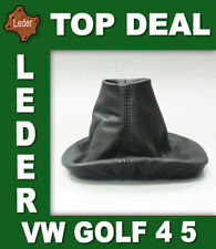 Gear Shift Stick Boot Cover Gaiter Genuine Lamb Leather  For VW GOLF 4 5 Bora