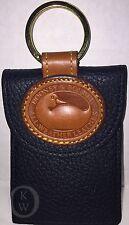 Vintage~Dooney & Bourke*HTF*Navy*Credit Card*Key Ring*Key Chain #17069F S165