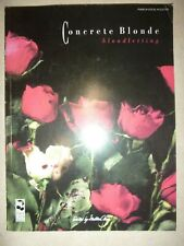Piano Vocal Guitar Songbook: Concrete Blonde ... Bloodletting