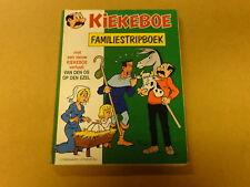 STRIP / KIEKEBOE: FAMILIESTRIPBOEK 1990 | 1ste druk