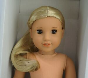 American girl Julie blond WIG only