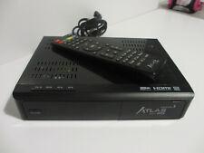 Démodulateur Sat Atlas HD200s Cristor avec télécommande