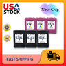 Lot #63 XL 63XL Black & Color Ink for HP OfficeJet 3830 3833 4650 4652 5258 5255