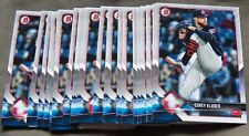 Cleveland Indians Corey Kluber Lot of 22 2018 Bowman Cards