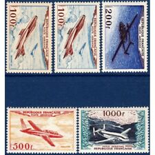 PA N°30 A 33 PROTOTYPES, TIMBRES NEUFS-1954