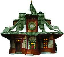 Dept 56 Alpine Village ~ Bahnhof ~ Mint In Box 56154