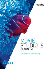Magix Vegas Movie Studio 16 Platinum Digital Software for Windows