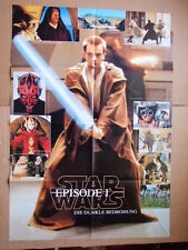 ►►rare BIG German Brawo double sided POSTER 1999 STAR WARS / Backstreet Boys