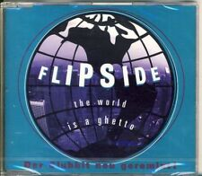FLIPSIDE - the world is a ghetto  4 trk MAXI CD 1997