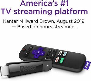 Roku Streaming Stick 4K Streaming Media Player with Voice Remote 3810R BRAND NEW