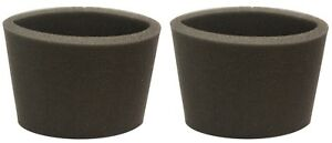 (2) Foam Filter Sleeve Fits Shop Vac Wet Dry Replaces 90585 9058500 90585-00