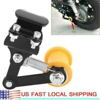 Adjuster Chain Tensioner Bolt On Roller Motorcycle Modified Accessories Tool US