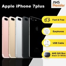 Apple iPhone 7Plus Jet Black 128G Good Condition Unlock SIM-Free IOS Smartphone