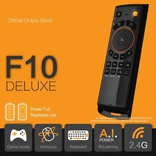 *2017 SALE* F10 Deluxe Fly Air Mouse Keyboard Remote for Android TV Box KODI